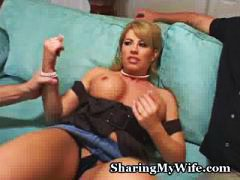 busty, cumshot, lingerie, reality, big-tits, doggie, amateur, facial, milf, foreplay, sharingmywife.com, homemade, pussy-eating, blonde, stockings, cougar