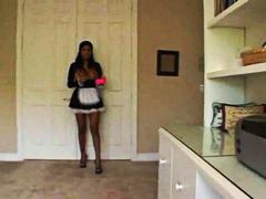 See: French maid cleans the...