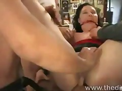 humiliation, bdsm, public, naked, redhead,