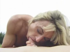 Alpha Porno Movie:Really muscular blonde outdoor...