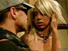 HardSexTube Movie:Hot blonde getting punished an...