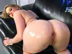 Sunny Lane lubed up for big cock anal