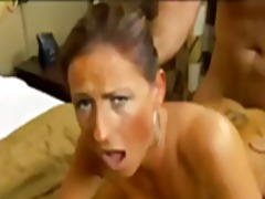 Big tits mature swinger likes young dick