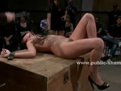Tube8 Movie:Busty slut bound with rope get...