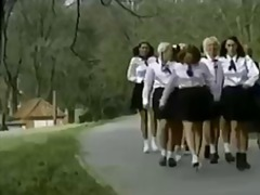 A boarding school for girls is a wonderful...