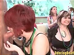 party, blowjob, stripper, cfnm, group,