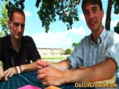 Cute Twink Enjoys Outd... video