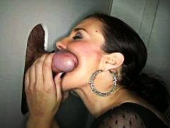 blowjob, milf, gloryhole, sucks, swallow,
