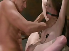 nipples, gag, fetish, mouth, bdsm, dick,