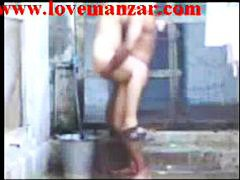 Thumb: Indian Aunty Bathing A...