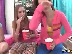 Tube8 Movie:Girls Flashing And Toying Tigh...