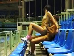 Sex in the stands of t... - Alpha Porno