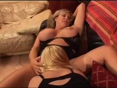 Blonde Busty BBW Girl ... video