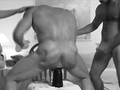Hairy Ass Plunging