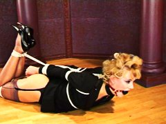 Xhamster Movie:Bound on the floor