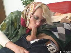 pussy, gives, reality, housewife, grandma