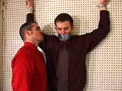 men, tied, gagged