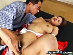 Alice Hoshi Asian babe gets facial part6