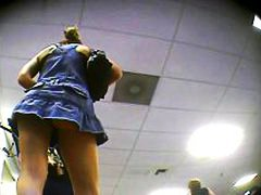 upskirt: can you see p... video