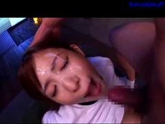 pussy, japan, asian, student, facial,