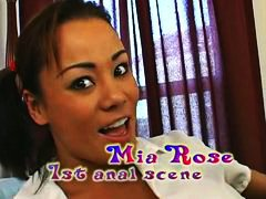 Anal sex with Mia Rose video