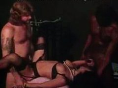 Sexy threesome in classic erotica