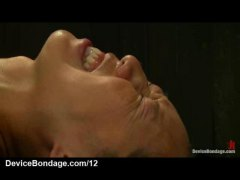 HardSexTube Movie:Bound in metal device babe flo...