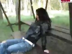 German Sex In Forest video