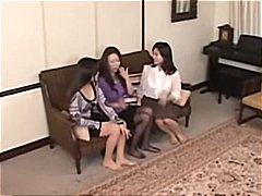 These Asian lesbian ba... video