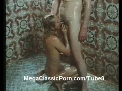 sex, shower, retro, vintage, 1970s, scene
