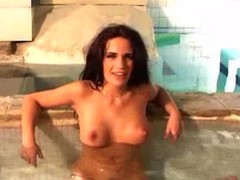 cougar, pool, ass-fuck, anal, mature,