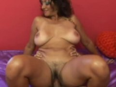Hairy vagina milf with... video