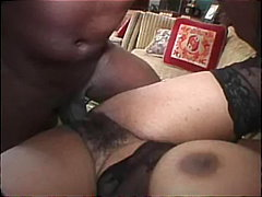 Busty african mom video