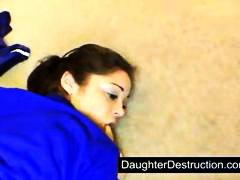 Young daughter fucked ...