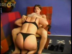 Nuvid - Old mom spanks him and...