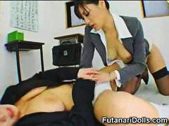 Futanari Coed Gets a B... video