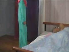 Arab Lady Wakes Sleepi... video