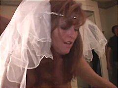 Bride gets boned from two black guys on her wedding night