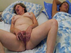 Thumb: Mature woman fucks sle...