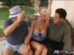 Blonde MILF, Lori Plea... video