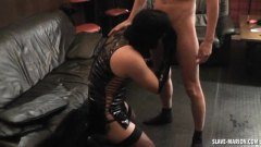 Amateur Tranny Gangbanged video