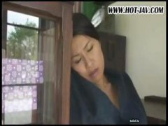 Japanese wife sucks on... preview