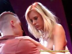 reality, amateur, blonde, threesome,