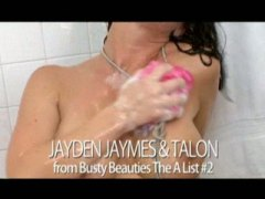 jayden jaymes,  brunette, hairy, rough, teens, anal, facial, shower, big-tits, handjob, brunettes, hardcore, cumshot, doggystyle, blowjob,