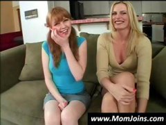Thumb: Hot mom and daughter s...