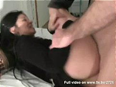 Romany, beautiful asian girl fucked by a lucky guy