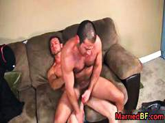Hairy straight guy get... video