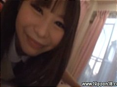 handjob, uniform, asian, teen, blowjob, schoolgirl, japanese, young,