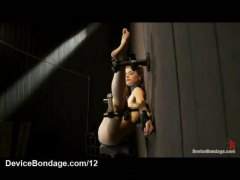 HardSexTube Movie:Immobilized against the wall b...