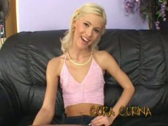 Thumb: Ultra skinny teen Cora...